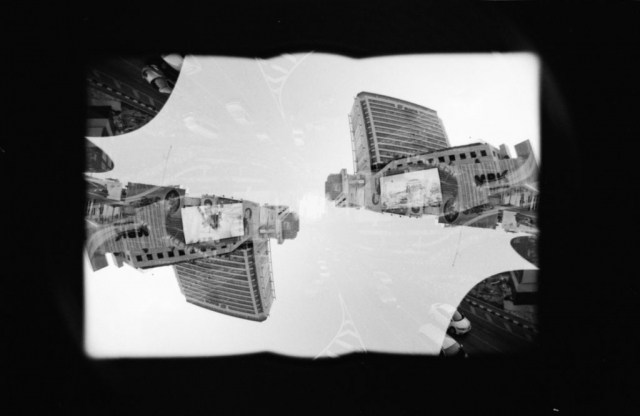 Project Monde Parallèle - Film: ilford HP5+ 400 (push to 800iso) - double exposure - Nikon F4 -  Bangkok, Thailand