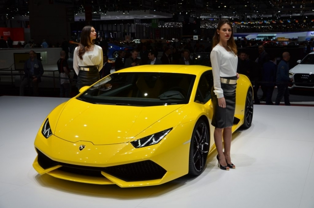 Rike Simoes - Press day Geneva Motor Show 2014